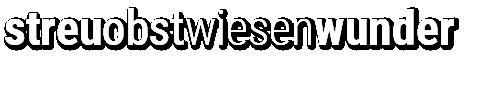 streuobstwiesenwunder Logo